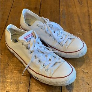 Converse low top all star sneakers